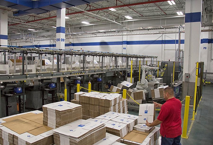 Shipping and XPak Boxing Machine