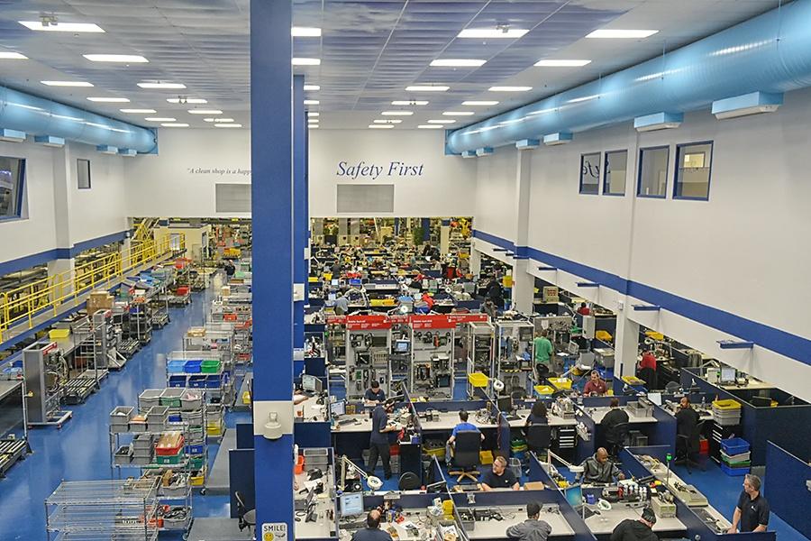 Radwell Repair and Production Area Willingboro, NJ