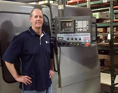 CNC Manager with CNC Machine