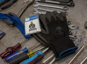 Paul Badge and Tools
