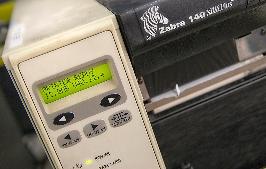 Radwell - Zebra Printer