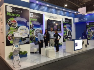Radwel International Trade Show Booth