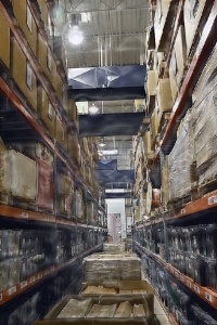 Radwell International Warehouse racks
