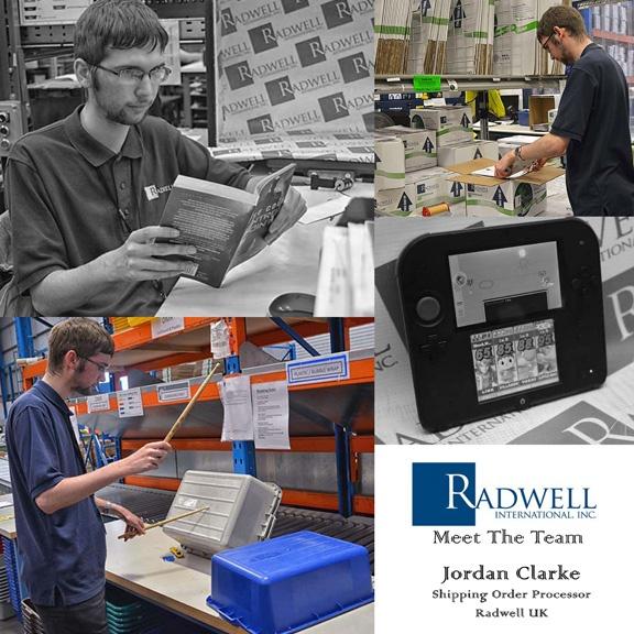 Radwell International RADSTAR COLLAGE Jordan Clarke
