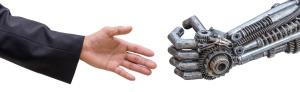 Radwell International Robot and Human hands