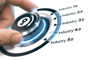 Industry 50 hand on dial web