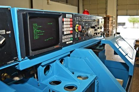CNC Machine Side View
