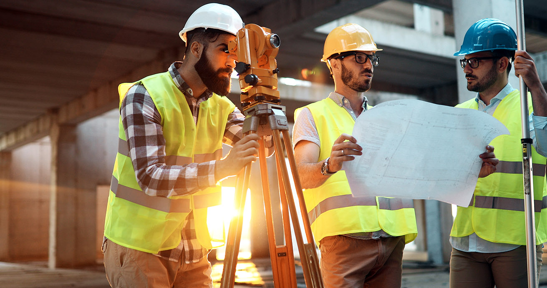 Engineers on the job