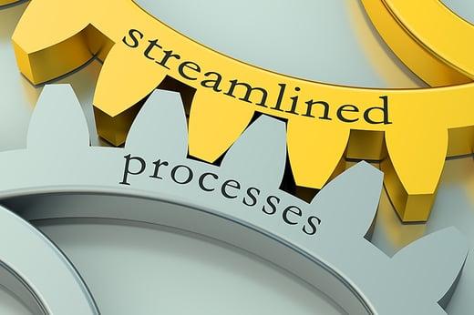 Radwell International gears showing streamlined processes