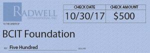 BCIT Foundation Donation